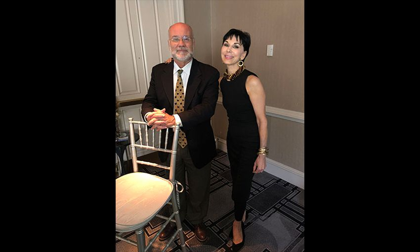 Dr. Cynthia Magro and Dr. Neil Crowson at the annual ASCP Dermatopathology Course in Charleston, South Carolina, June 18-22, 2018.