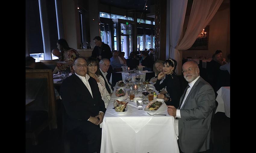 Dr. Carlos Garcia, Mrs. Garcia, Dr. Walter Lamar, Dr. Karen Drulak, Dr. Cynthia Magro, Dr. Neil Crowsen